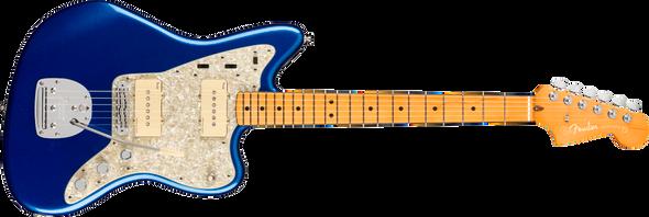 Fender American Ultra Jazzmaster®, Maple Fingerboard, Cobra Blue