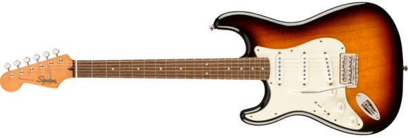 Squier Classic Vibe '60s Stratocaster Left-Handed, Laurel Fingerboard - 3-Color Sunburst