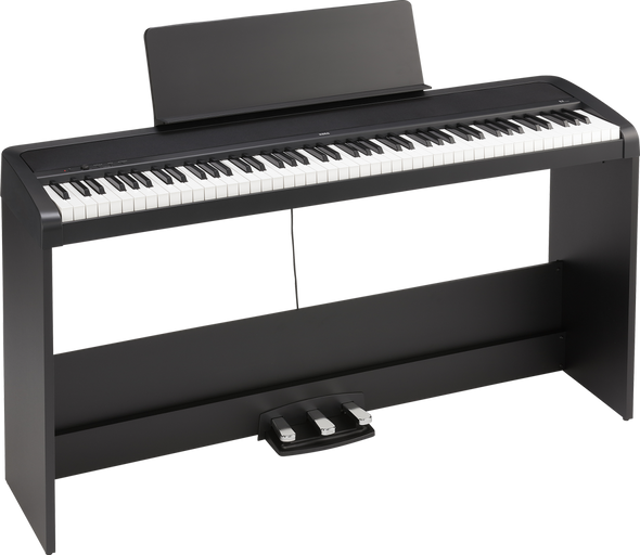 Korg B2SP Digital Piano Bundle Black