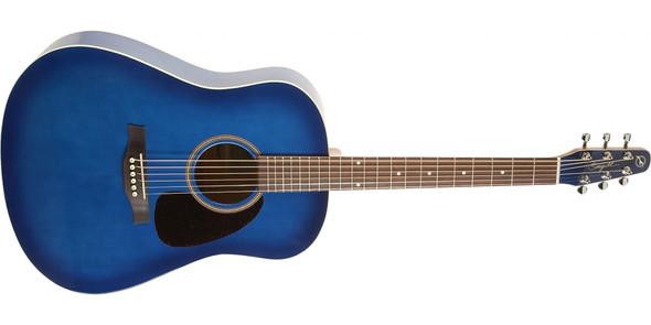 Seagull S6 GT Spruce Acoustic Guitar - Blue Burst