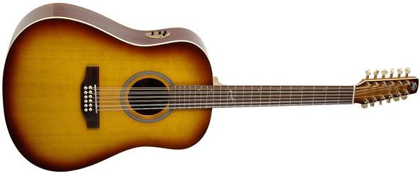 Seagull Artist Studio Acoustic Electric 12 String Guitar  - High Gloss Burst