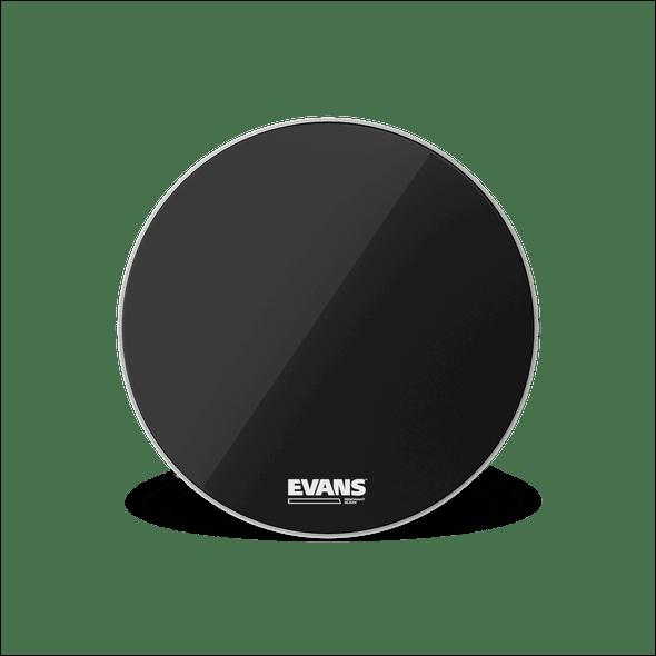 "Evans 22"" Resonant Black Bass Drum Head"