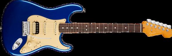 Fender American Ultra Stratocaster® HSS, Rosewood Fingerboard, Cobra Blue