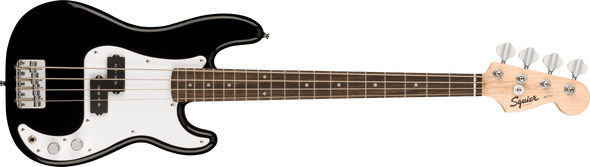 Squier Mini P Bass®, Laurel Fingerboard, Black