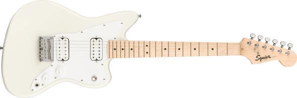 Squier Mini Jazzmaster® HH, Maple Fingerboard, Olympic White