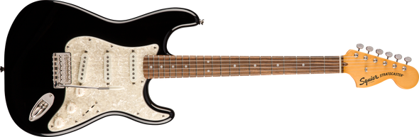 Squier Classic Vibe '70s Stratocaster®, Laurel Fingerboard, Black
