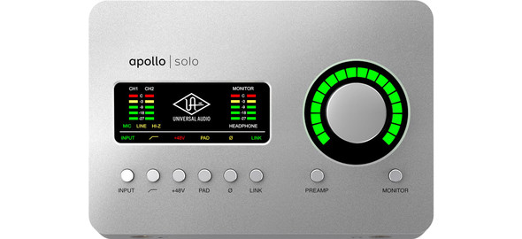Universal Audio Apollo Solo USB Audio Interface
