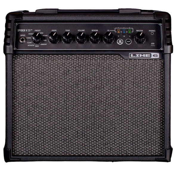 Line 6 Spider V20 MkII Modelling Guitar Amp