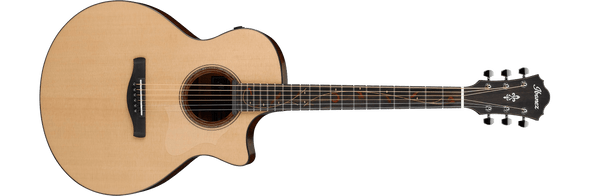 Ibanez AE325 Acoustic Guitar - Natural Low Gloss