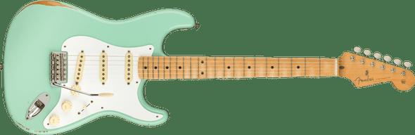 Fender Vintera Road Worn® '50s Stratocaster®, Maple Fingerboard, Surf Green