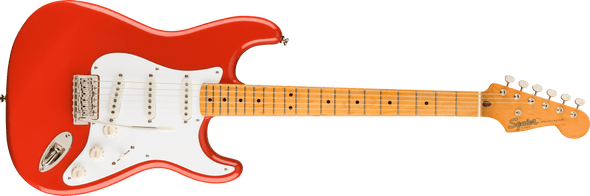 Squier Classic Vibe '50s Stratocaster®, Maple Fingerboard, Fiesta Red
