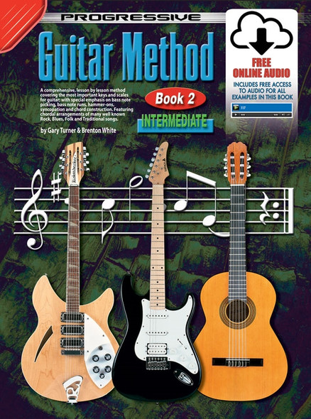 Progressive Guitar Method Book 2 Book Intermediate