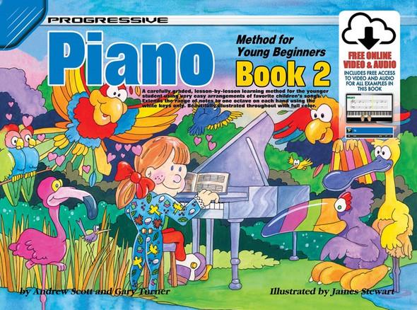 Progressive Piano Method For Young Beginners Book 2