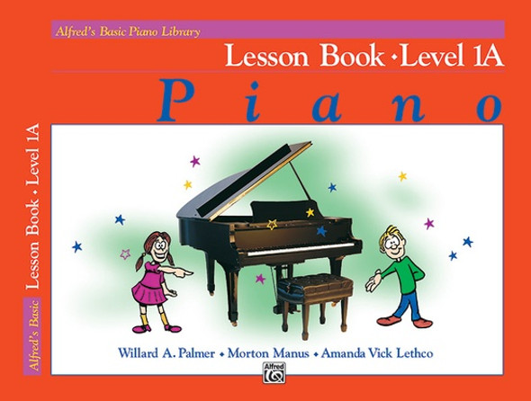 Alfred's Basic Piano Library Lesson Book 1A