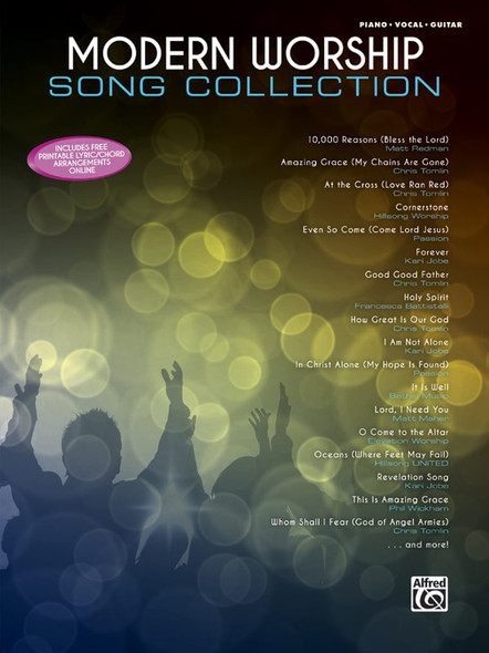 Modern Worship Song Collection - Piano/Vocals/Guitar Sheet Music