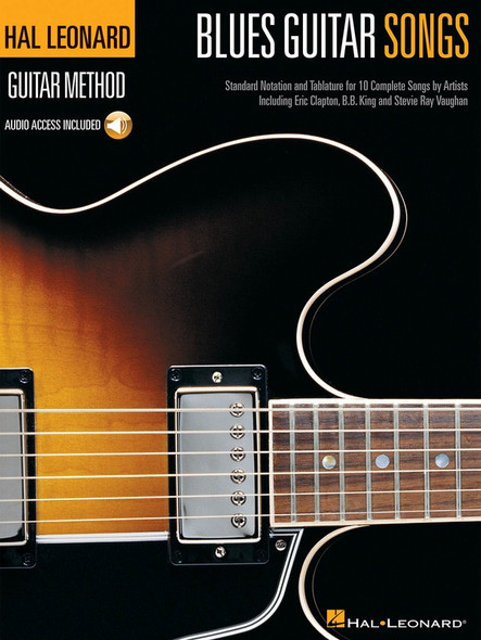 Hal Leonard Blues Guitar Songs