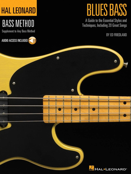 Hal Leonard Blues Bass - A Guide to the Essential Styles and Techniques