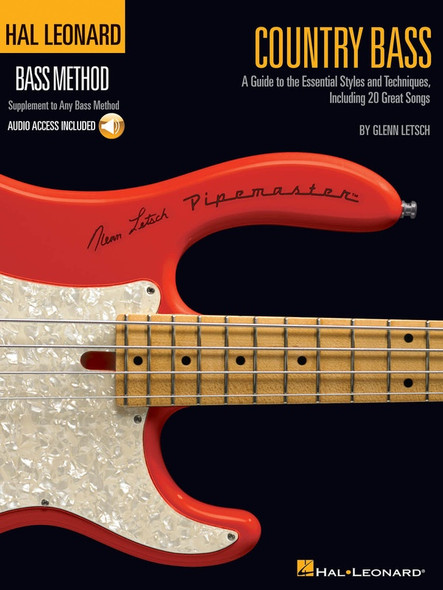 Hal Leonard Country Bass - A Guide to the Essential Styles and Techniques