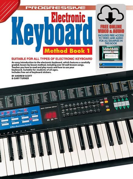 Progressive Electronic Keyboard Method Book 1