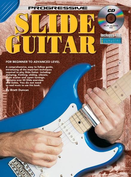 Progressive Slide Guitar Bk/CD