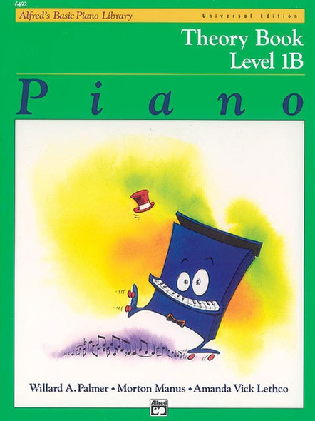 Alfred's Basic Piano Library: Theory Book 1B Universal Edition