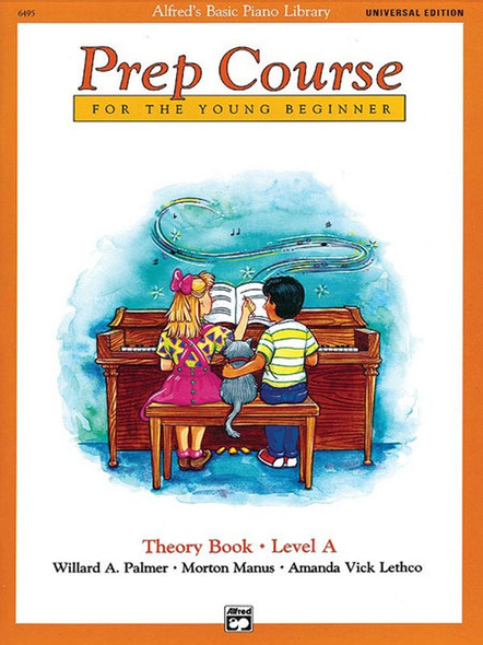 Alfred's Basic Piano Prep Course: Theory Book A Universal Edition