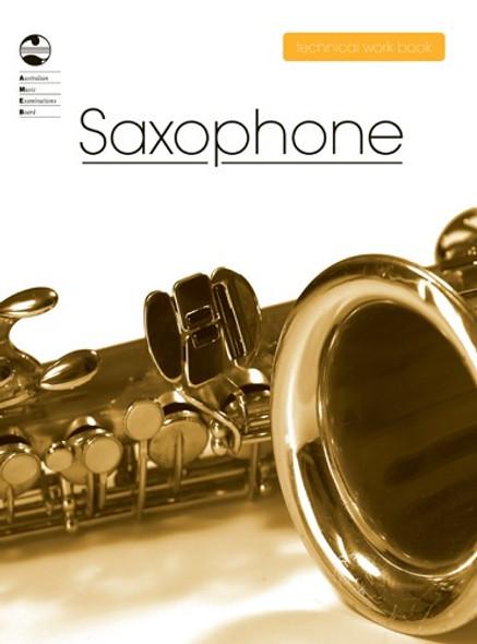 AMEB Saxophone Technical Work Book - 2008 Edition