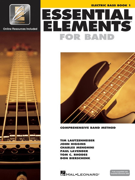 Essential Elements for Band - Electric Bass Book 1 with EEi