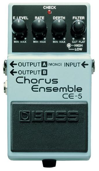 Boss CE5 - Chorus Ensemble Pedal