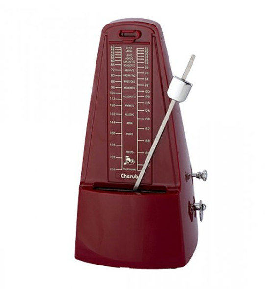Cherub Mechanical Metronome - Red