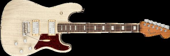 Fender Parallel Universe Volume II Uptown Strat, Rosewood Fingerboard, Static White