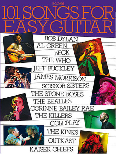 101 Songs for Easy Guitar Book 6