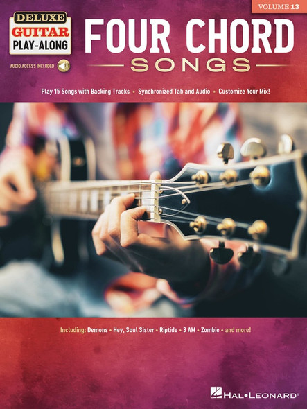 Four Chord Songs - Deluxe Guitar Play-Along Volume 13