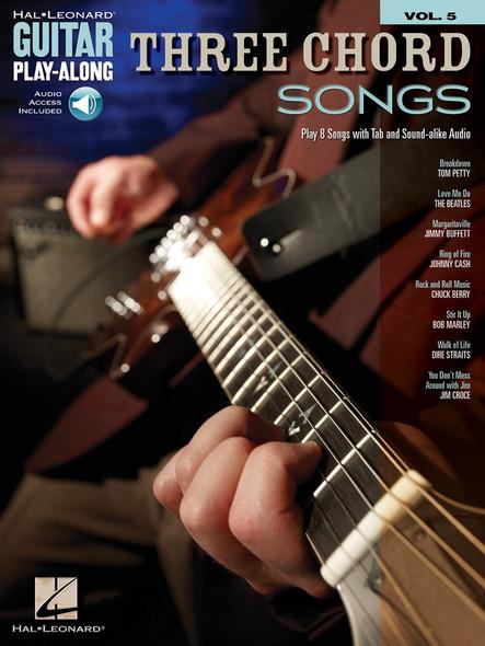 Three Chord Songs - Guitar Play-Along Volume 5