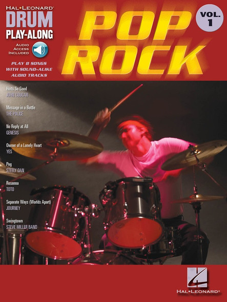Pop/Rock - Drum Play-Along Volume 1