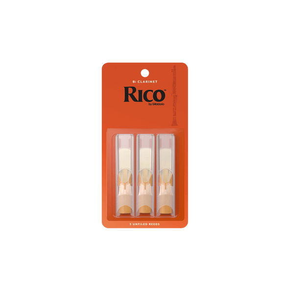 Rico Bb Clarinet Reeds - 3 Pack