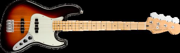 Player Jazz Bass®, Maple Fingerboard, 3-Color Sunburst