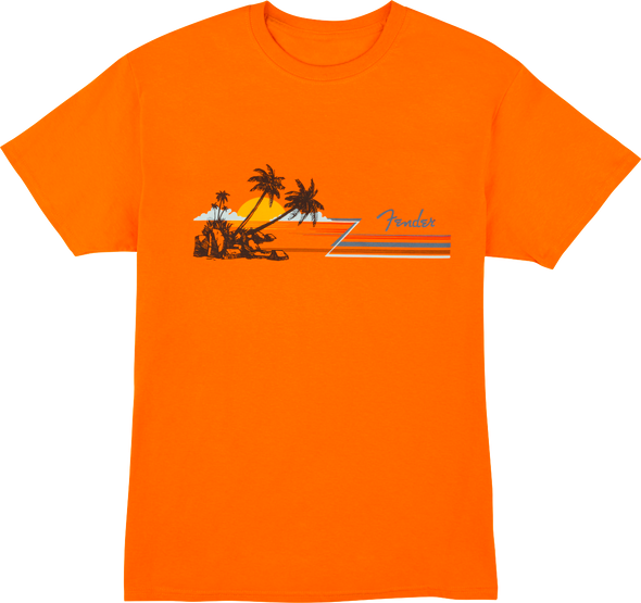 Fender Hang Loose Unisex T-Shirt Orange L