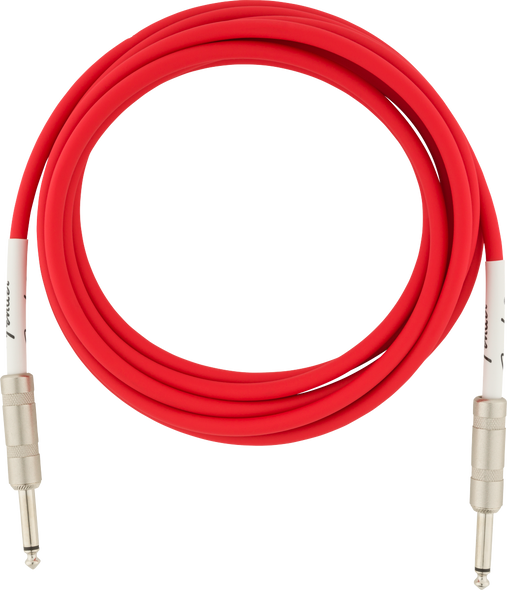 Fender Original Series Instrument Cable, 10', Fiesta Red