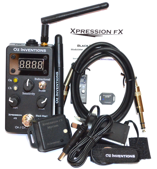 Xpression FX Black Magic Motion - MIDI