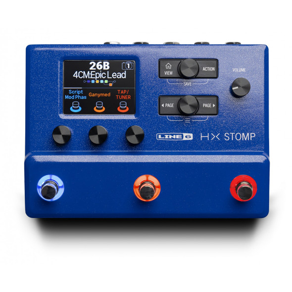 Line 6 Helix HX Stomp - Limited Edition Blue