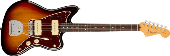 Fender American Professional II Jazzmaster®, Rosewood Fingerboard, 3-Color Sunburst