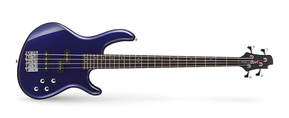 Cort Action Bass Plus 4 String - Blue Metallic