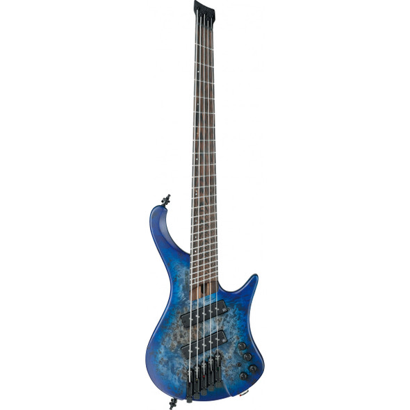 Ibanez EHB1505MS Electric Bass with Bag - Pacific Blue Burst Flat