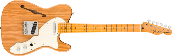 Fender American Original 60s Telecaster® Thinline, Maple Fingerboard, Aged Natural