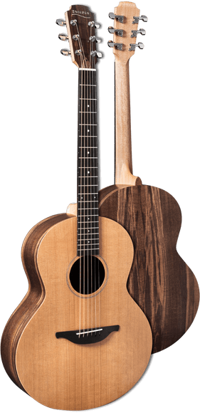 Sheeran S-01 Acoustic Guitar - Cedar/Walnut