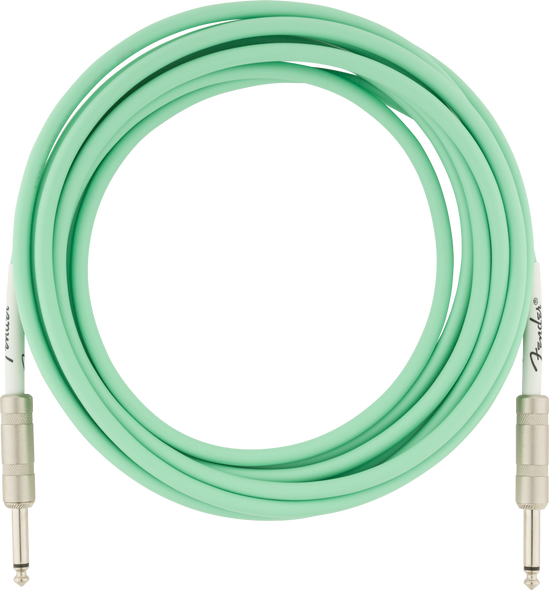 Fender Original Series Instrument Cable, 18.6', Surf Green