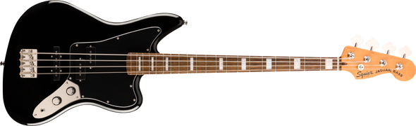 Squier Classic Vibe Jaguar® Bass, Laurel Fingerboard, Black
