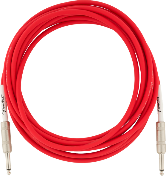 Fender Original Series Instrument Cable, 18.6', Fiesta Red