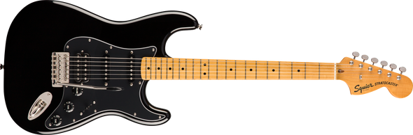 Squier Classic Vibe '70s Stratocaster® HSS, Maple Fingerboard, Black